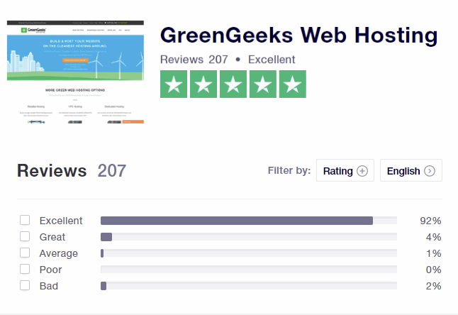 greengeeks - Green web hosting